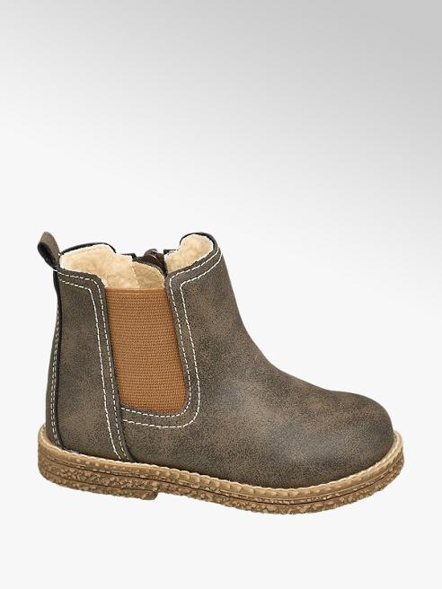 Bobbi-Shoes brązwe kozaczki chłopięce Bobbi-Shoes