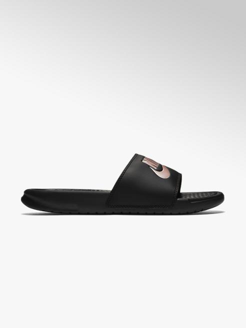 NIKE czarne klapki damskie Nike Benassi