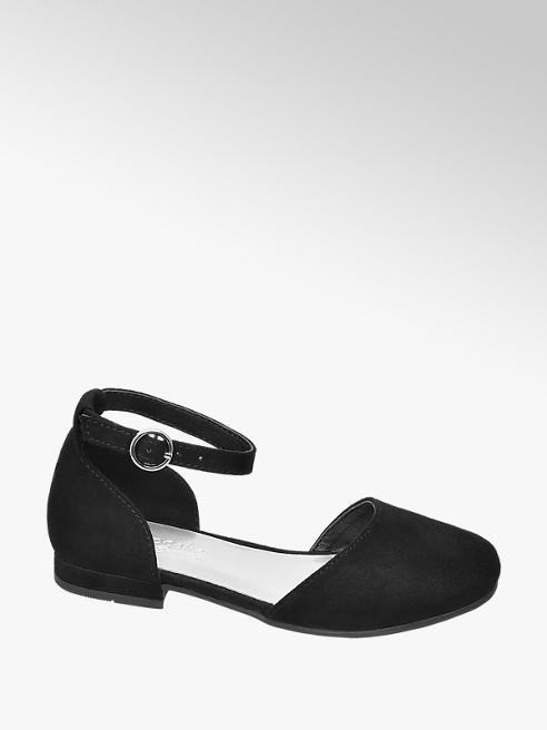 Cupcake Couture czarne sandałki dziewczęce Cupcake Couture