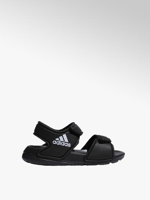 adidas czarne sandały dziecięce adidas Alta Swim