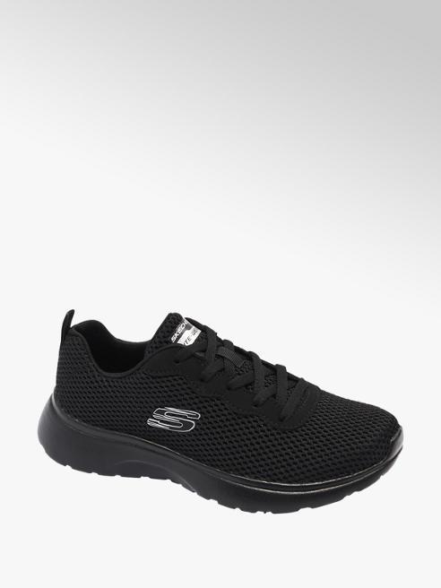 Skechers czarne sneakersy damskie z wkładką memory foam