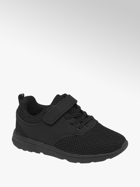 Vty czarne sneakersy dziecięce Vty zapinane na rzep