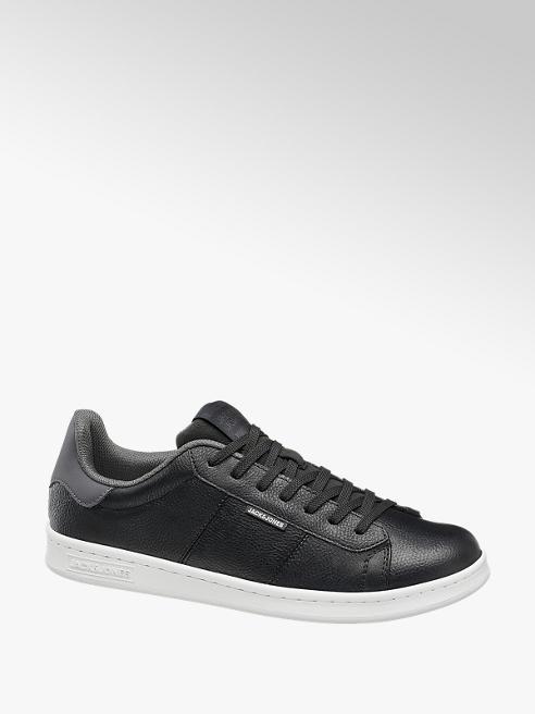 Jack + Jones czarne sneakersy męskie Jack + Jones na białej podeszwie