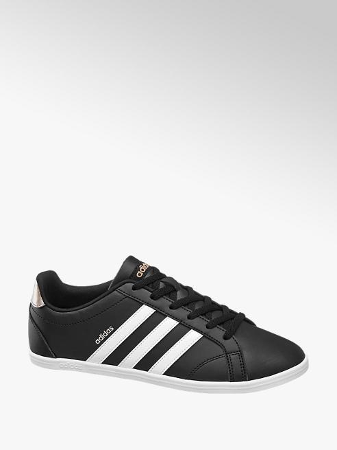 adidas czarno-białe sneakersy damskie adidas CONEO QT