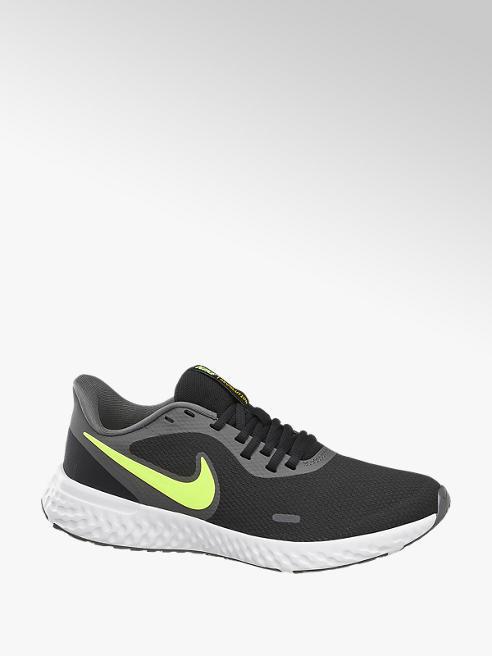 NIKE czarno-białe sneakersy męskie Nike Revolution 5