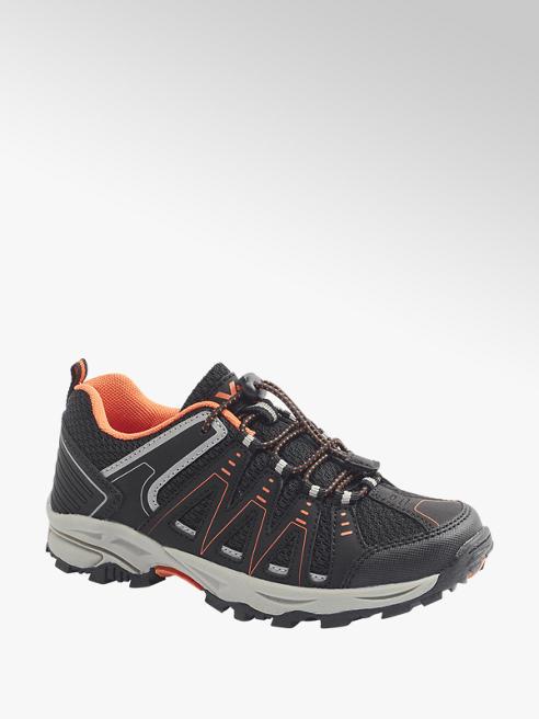 Vty czarno-pomarańczowe buty dziecięce