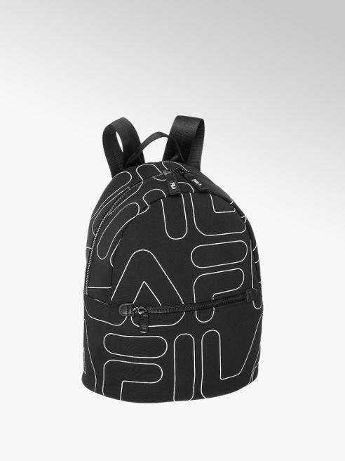 Fila czarny plecak Fila w materiał we wzór w loga