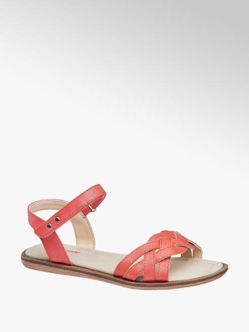 Graceland czerwone sandały dziewczęce Graceland