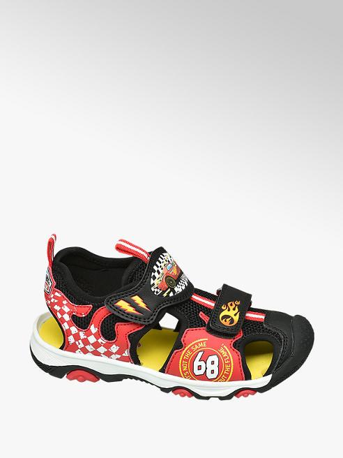 Hot Wheels czerwono-czarne sandałki chłopięce