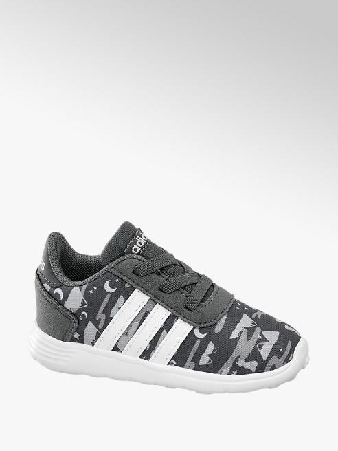 adidas Šedé dětské slip-on tenisky Adidas Lite Racer Inf