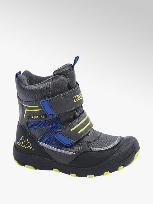Kappa Šedá kotníková obuv na suchý zip Kappa s TEX membránou