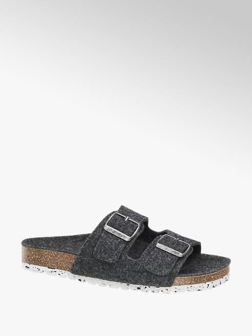 Vero Moda Šedé pantofle Vero Moda