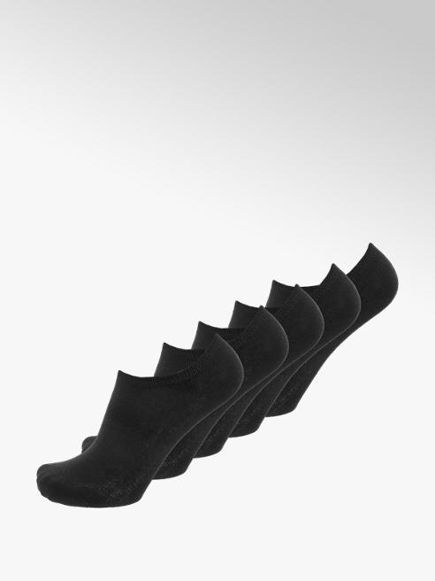 Černé dámské ponožky, 5 párů