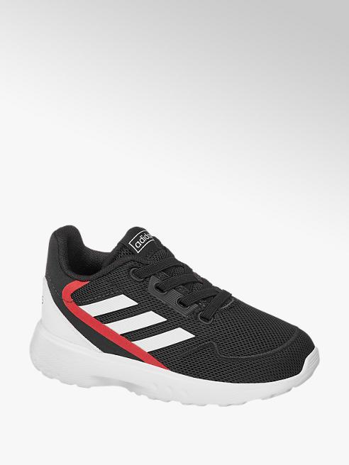 adidas Černé dětské slip-on tenisky Adidas Nebzed s elastickými tkaničkami