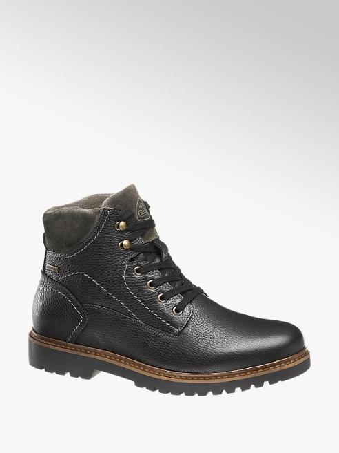 Gallus Černá kožená komfortní kotníková obuv Gallus s TEX membránou