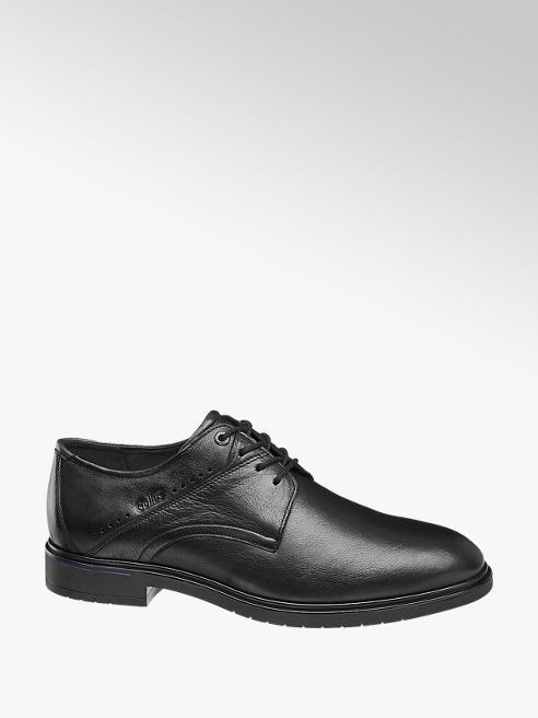Gallus Černá kožená komfortní obuv Gallus