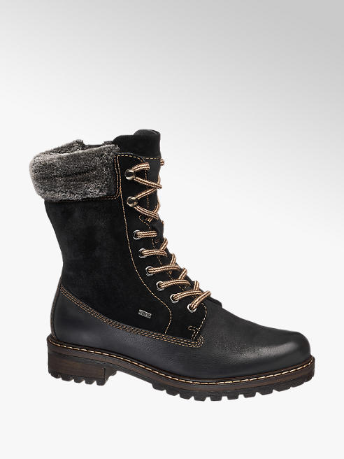 Landrover Černá kožená šněrovací obuv Landrover