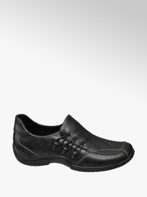 Easy Street Černá komfortní slip-on obuv Easy Street