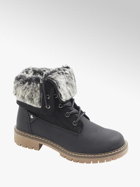 Landrover Černá šněrovací obuv Landrover