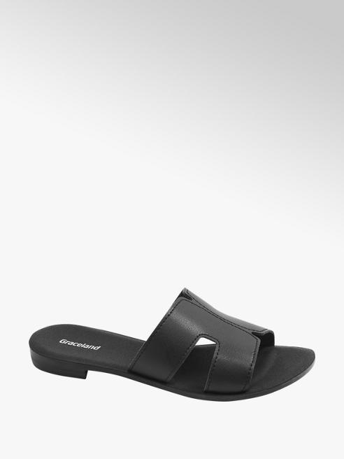 Graceland Černé pantofle Graceland
