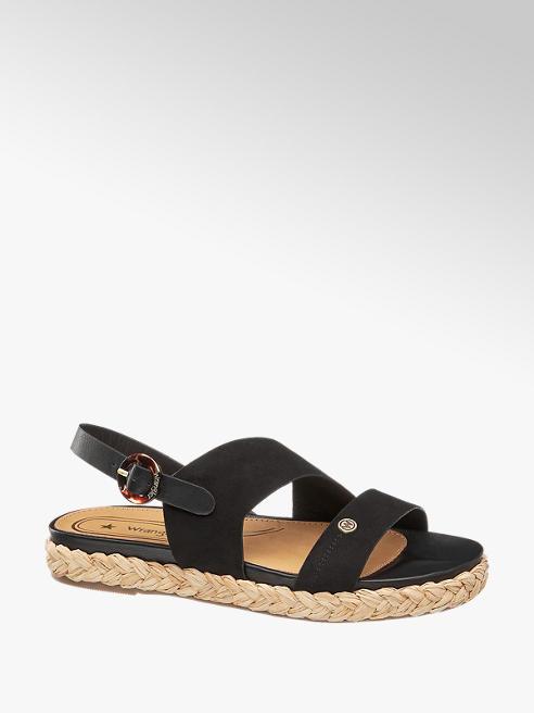 Wrangler Černé sandály Wrangler