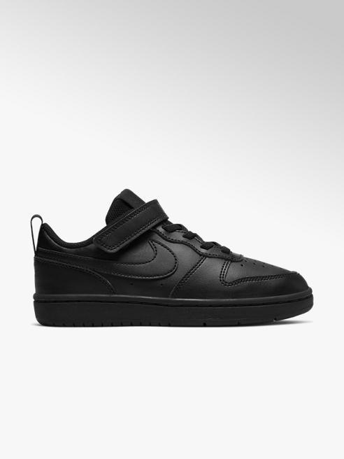 NIKE Černé tenisky Nike Court Borough Low 2 na suchý zip