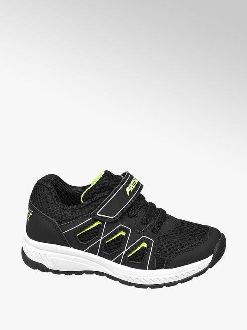 Bobbi-Shoes Černé tenisky na suchý zip Bobbi-Shoes