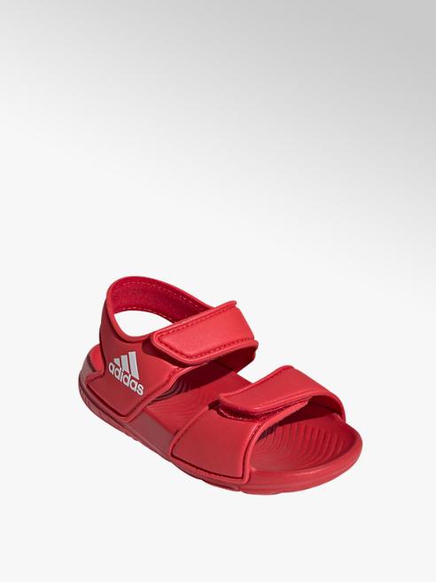 adidas Červené dětské plážové sandály Adidas Alta Swim I
