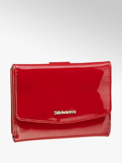 5th Avenue Červená kožená dámská peněženka 5th Avenue