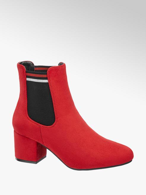Graceland Červená obuv chelsea Graceland