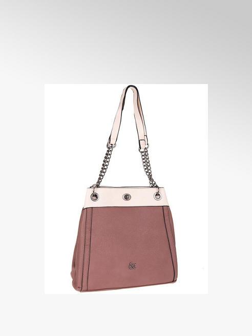 Graceland fiołkowo-kremowa torebka Graceland na łańcuszku