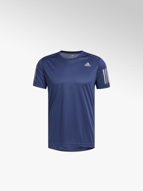adidas granatowa koszulka męska treningowa  adidas