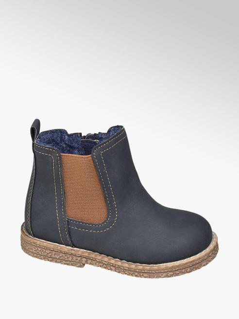 Bobbi-Shoes granatowe kozaczki chłopięce Bobbi-Shoes