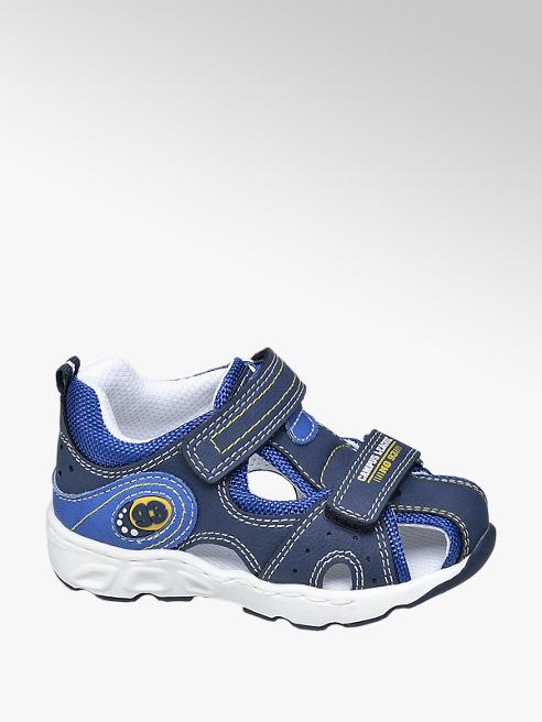 Bobbi-Shoes granatowe sandałki chłopięce Bobbi-Shoes zapinane na rzepy