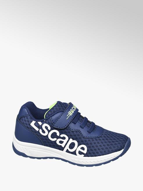 Bobbi-Shoes granatowe sneakersy chłopięce Bobbi-Shoes z napisem Escape