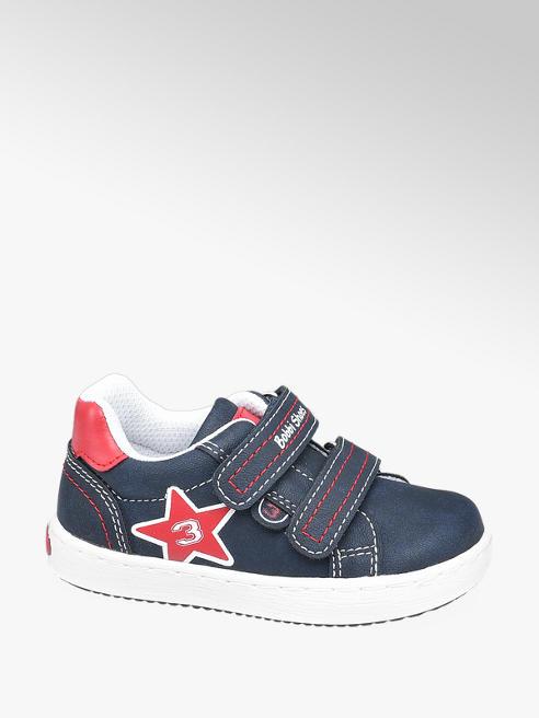 Bobbi-Shoes granatowe sneakersy chłopięce Bobbi-Shoes zapinane na rzepy