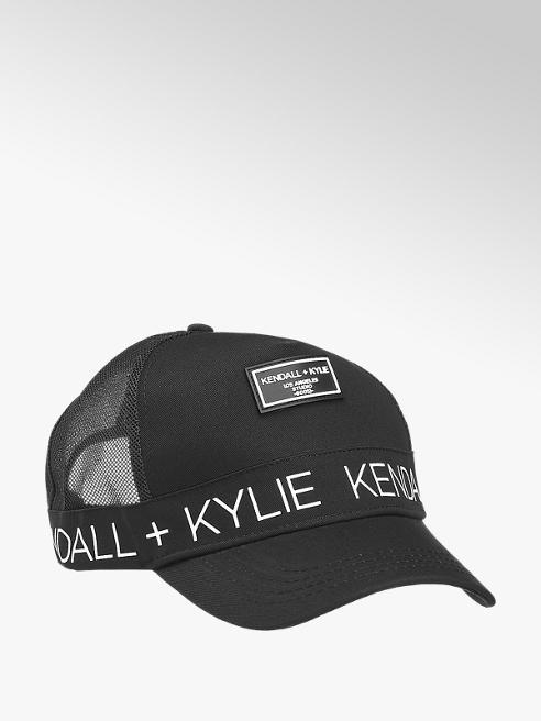 Kendall + Kylie Čierna šiltovka Kendall + Kylie