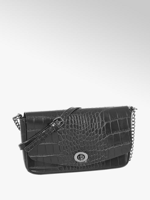 Graceland Čierna kabelka so zvieracím vzorom Graceland