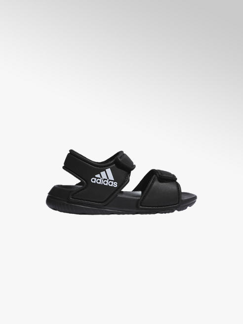 adidas Čierne detské plážové sandále Adidas Altaswim I