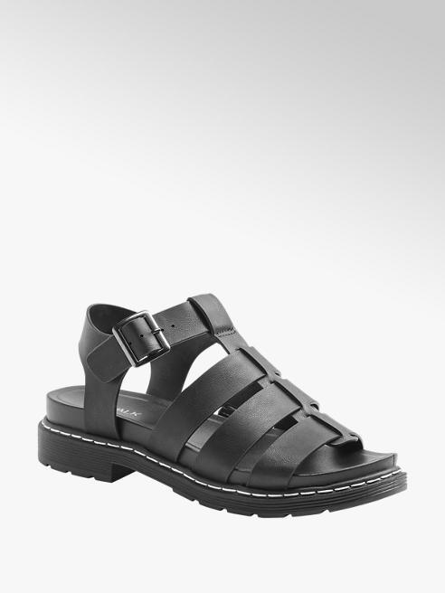 Catwalk Čierne sandále Catwalk