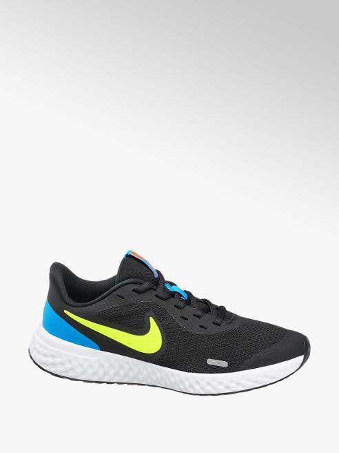 NIKE Čierne tenisky na suchý zips Nike Revolution 5