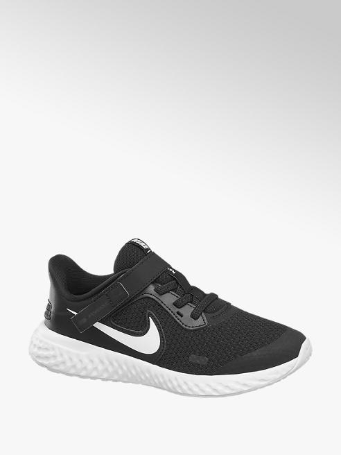 NIKE Čierne tenisky na suchý zips Nike Revolution Flyease