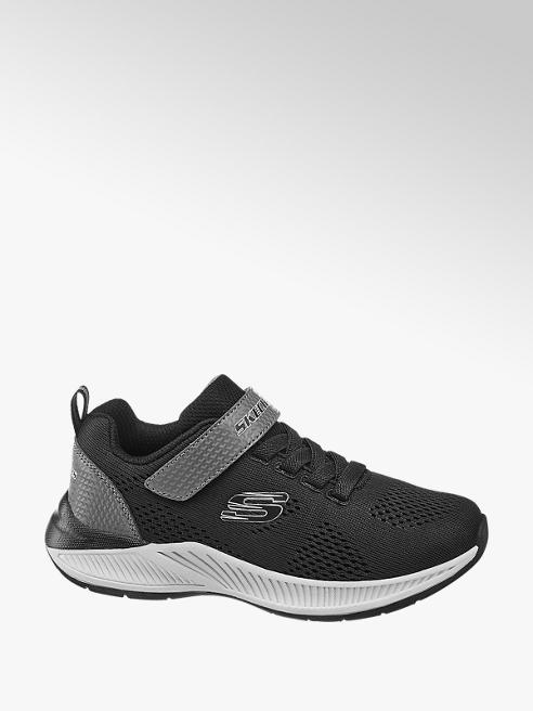 Skechers Čierne tenisky na suchý zips Skechers