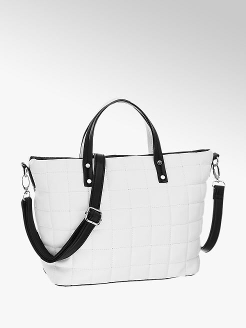 Graceland Čierno-biela kabelka Graceland