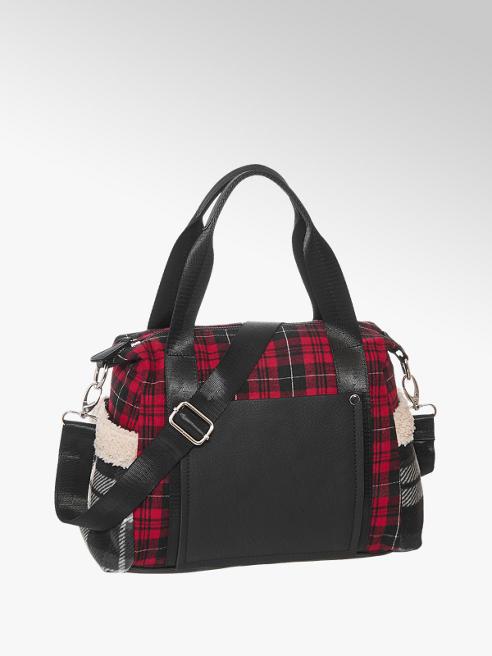 Graceland Čierno-červená kabelka Graceland