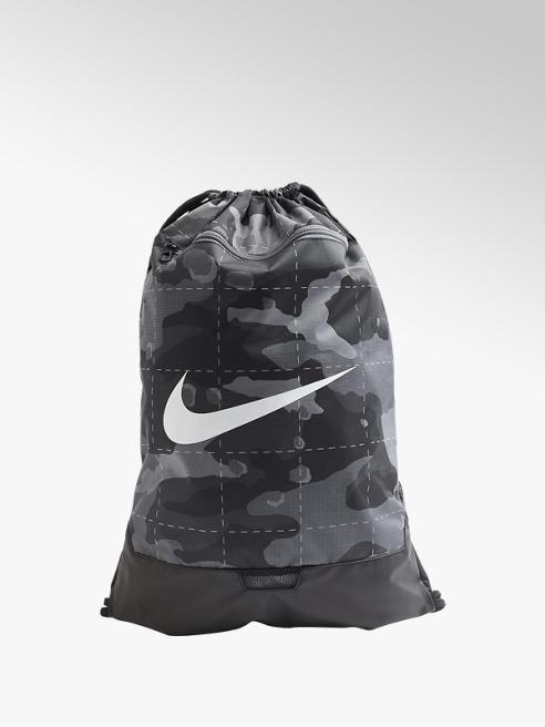 NIKE Čierno-sivý vak Nike Brasilia Gym sack