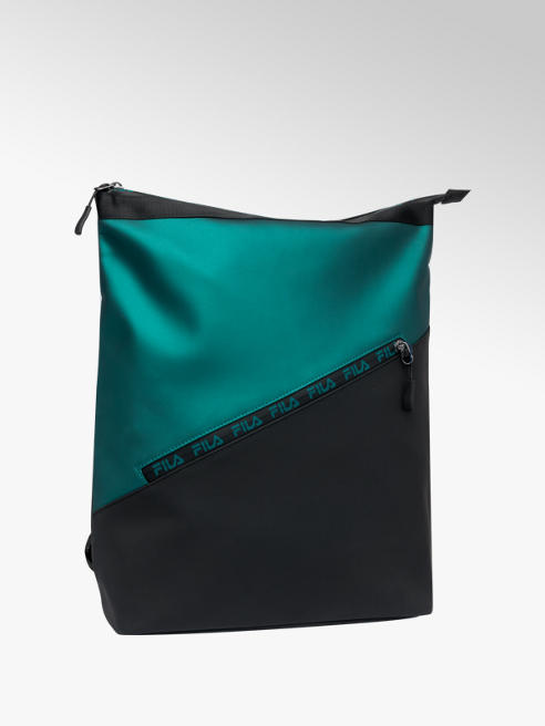 Fila Čierno-zelený batoh Fila