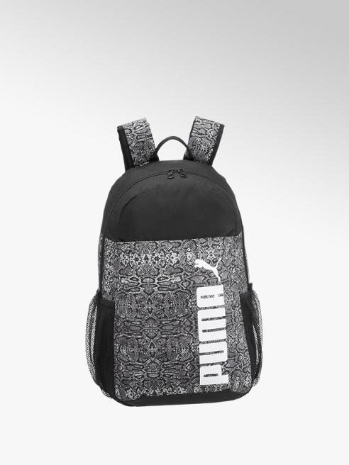 Puma Čierny batoh Puma Style so zvieracím vzorom