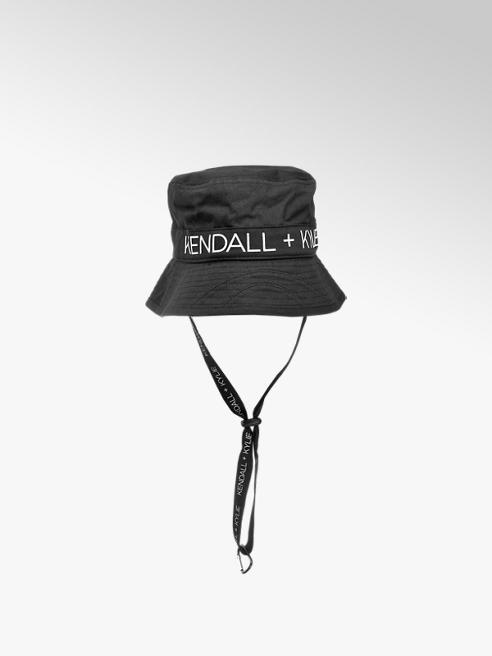 Kendall + Kylie Čierny klobúk Kendall + Kylie