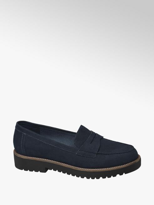 Graceland Éjkék loafer